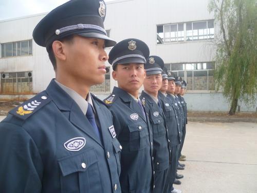 青岛分公司开展岗位练兵活动_专业保安公司_民营保安
